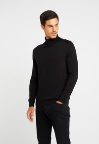 Benetton - ROLL NECK - Jersey de punto - black - 0