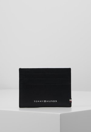 TEXTURED HOLDER - Business card holder - black