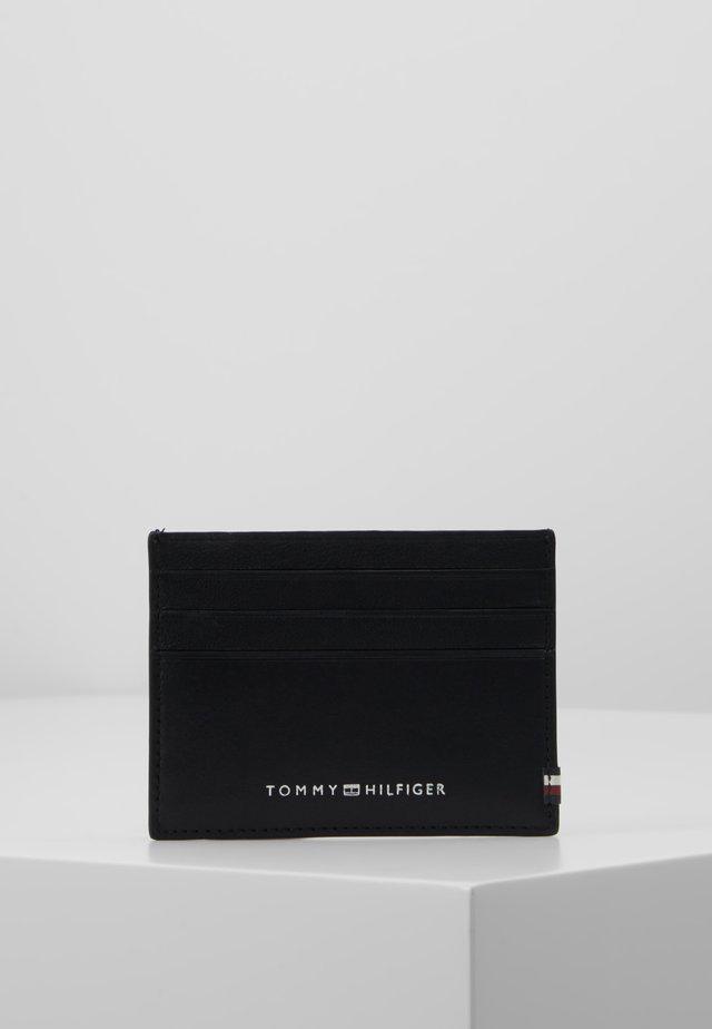 TEXTURED HOLDER - Visitkortetuier - black