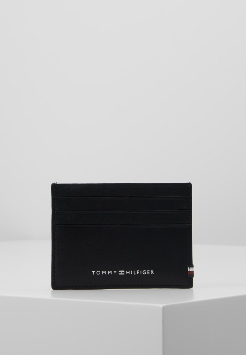 Tommy Hilfiger - TEXTURED HOLDER - Business card holder - black