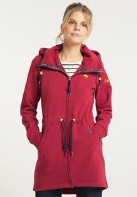 Schmuddelwedda - Zip-up hoodie - rot - 0
