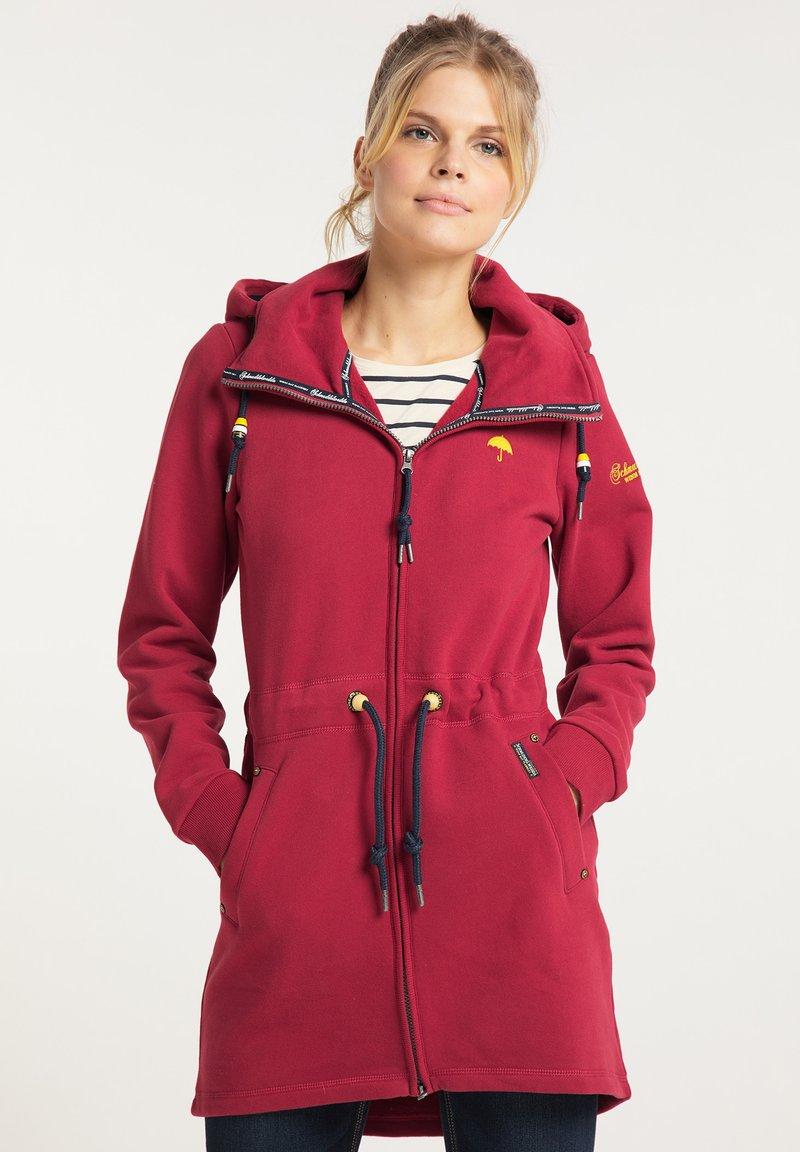 Schmuddelwedda - Zip-up hoodie - rot