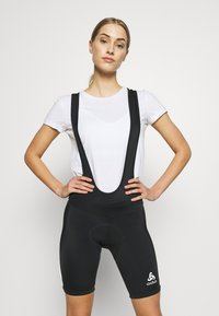 ODLO - TIGHTS SHORT SUSPENDERS ELEMENT - Tights - black - 0