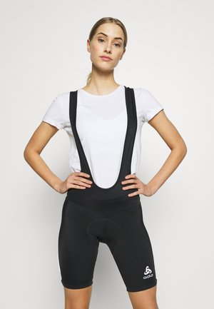 TIGHTS SHORT SUSPENDERS ELEMENT - Leggings - black