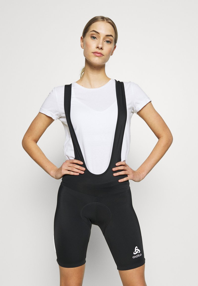 ODLO - TIGHTS SHORT SUSPENDERS ELEMENT - Tights - black