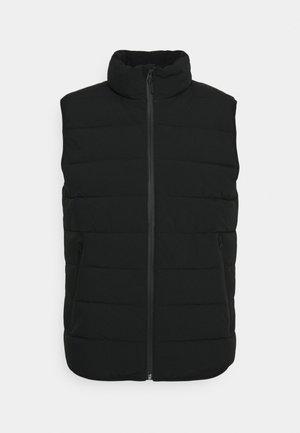 PACKABLE VEST - Waistcoat - black