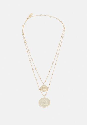 ROW LOGO PENDANT - Necklace - gold-coloured