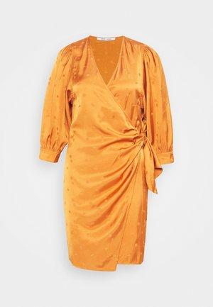CELESTINA WRAP DRESS  - Cocktail dress / Party dress - golden ochre