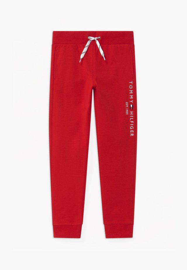 ESSENTIAL  UNISEX - Joggebukse - red