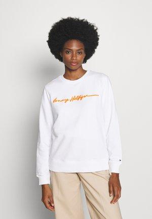 ANNIE RELAXED - Sweatshirt - white