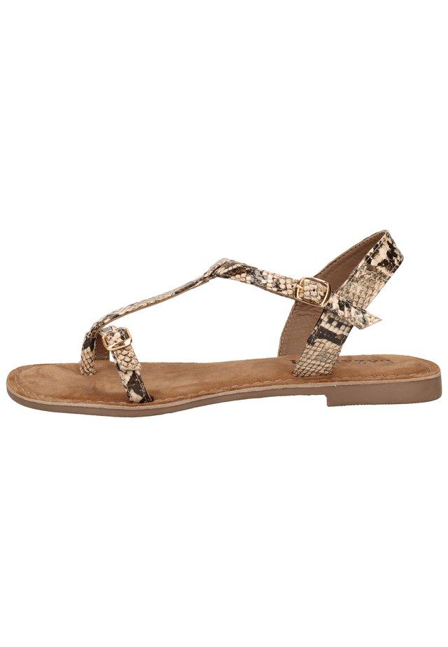 Sandaler m/ tåsplit - roccia