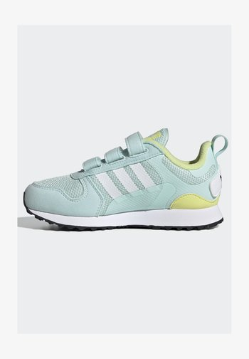 ZX 700 HD CF C ORIGINALS SNEAKERS SHOES - Trainers - halo mint/ftwr white/pulse yellow