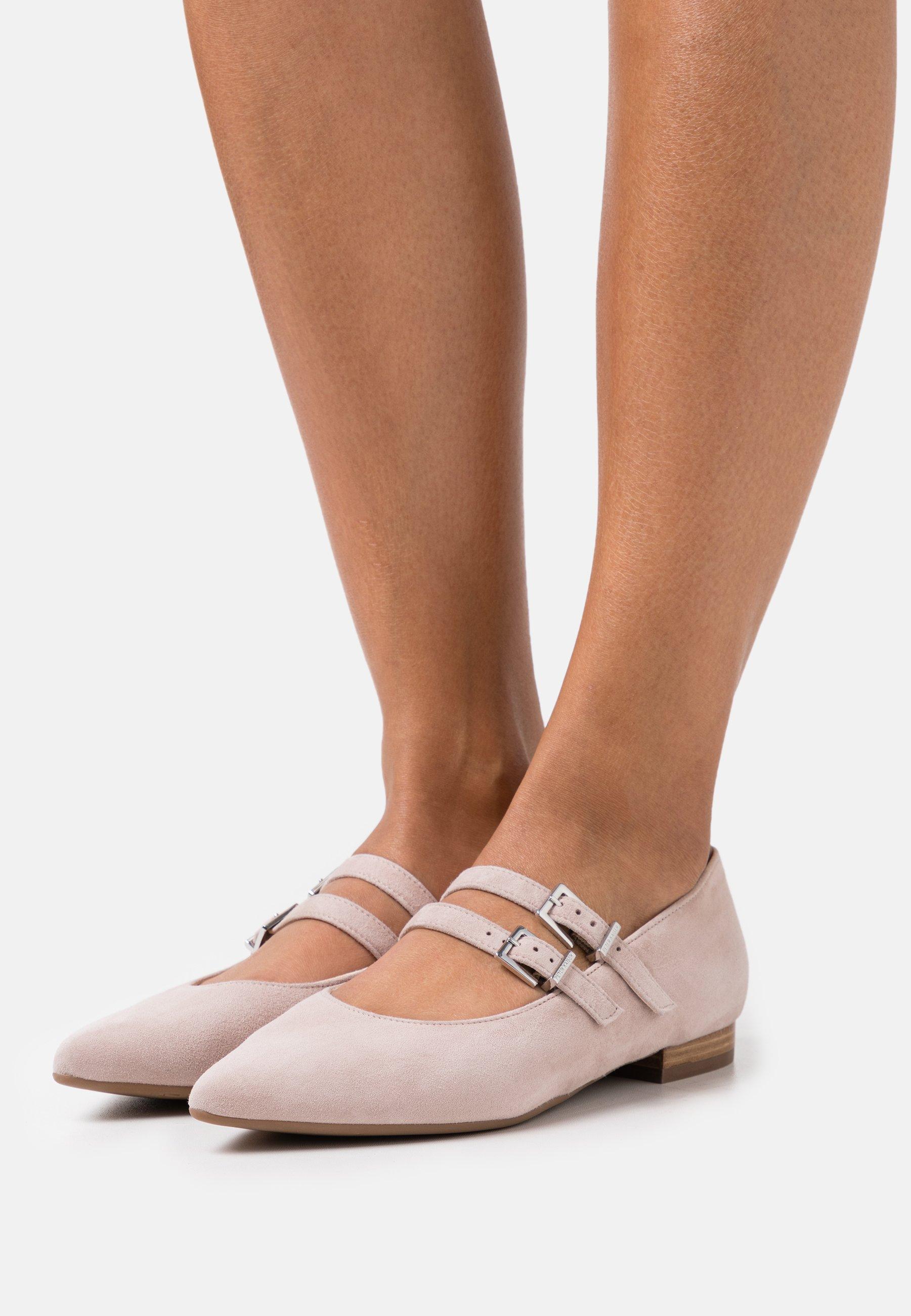 Women TACOMA - Ankle strap ballet pumps - mauve