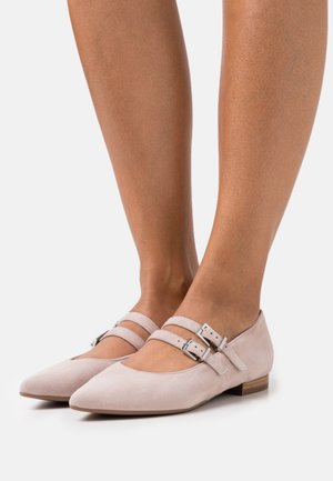TACOMA - Ballerina's met enkelbandjes - mauve