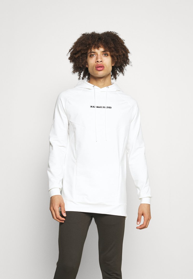 SQUATWOLF - STATEMENT HOODIE - Sweatshirt - white