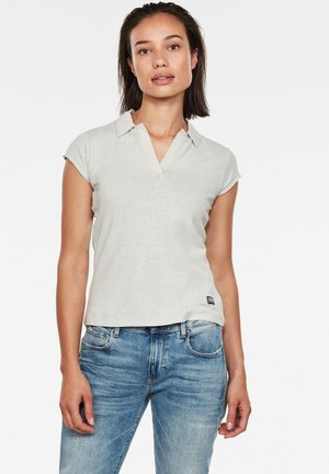 NORIL POLO SLIM - Polo shirt - cool grey