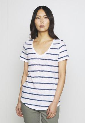 EASY - Print T-shirt - navy