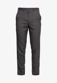Isaac Dewhirst - STAND ALONE TEXTURE - Spodnie garniturowe - grey - 4