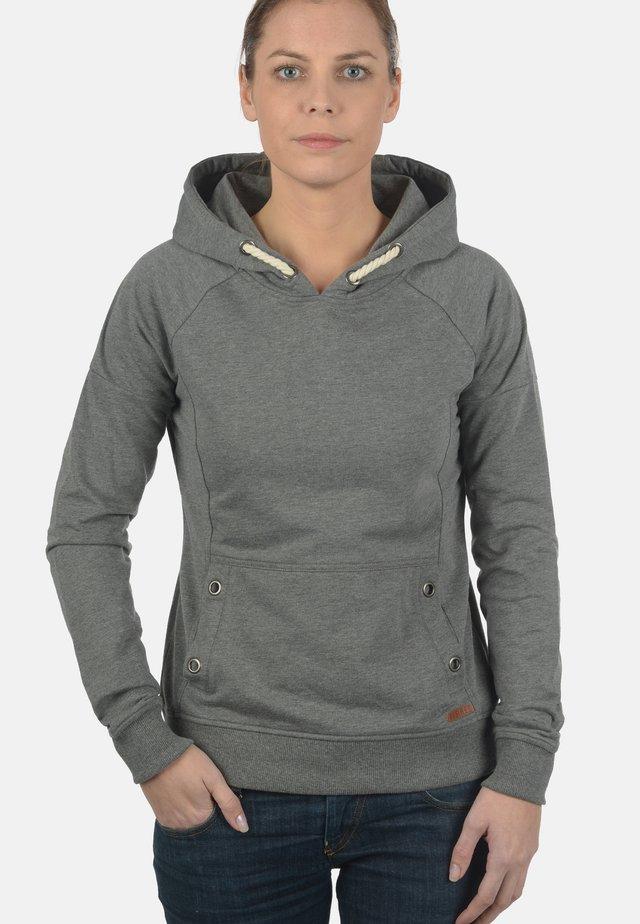 HOODIE SANDY - Hættetrøjer - grey melange