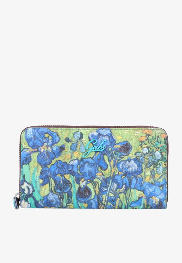 Wallet - irises