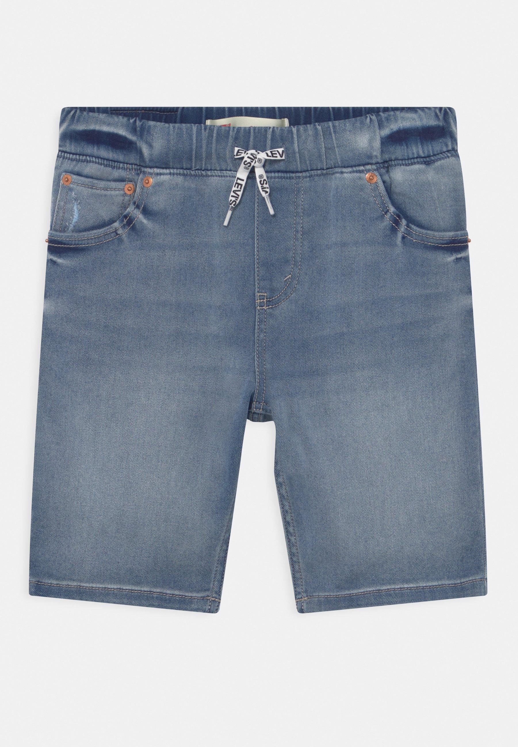 Kinder SKINNY DOBBY  - Jeans Shorts