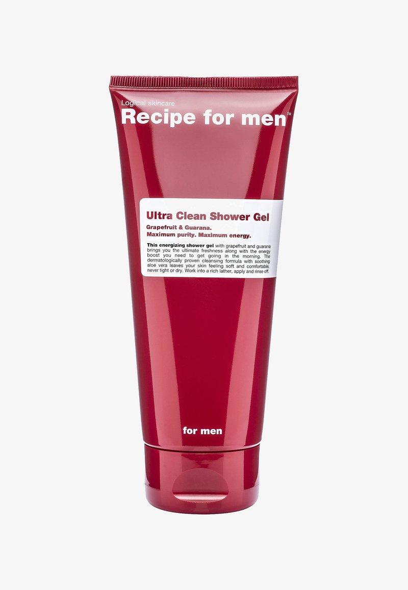 Recipe For Men - ULTRA CLEAN SHOWER GEL 200ML - Gel douche - -