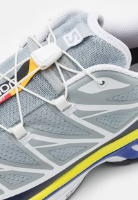 Salomon - XT 6 UNISEX - Sneakers - quarry/white/primrose - 7