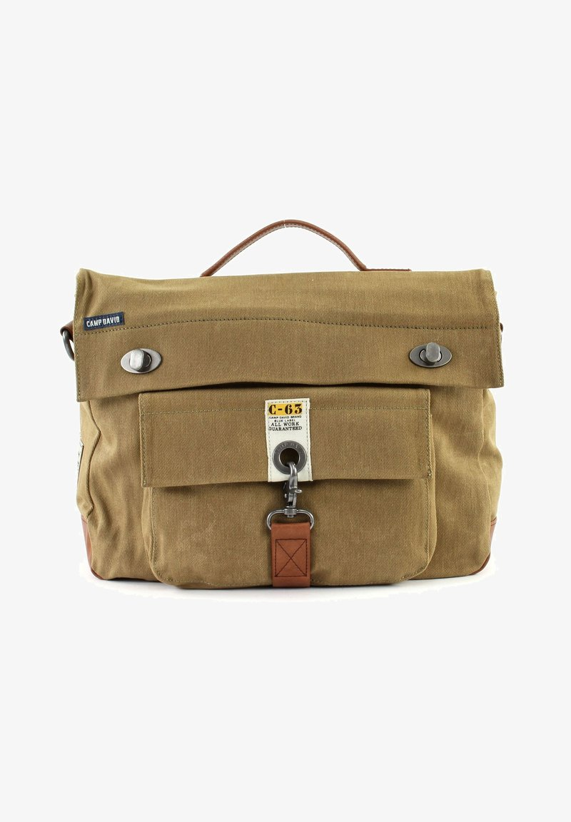 Camp David - OLD HARBOR BUSINESS CROSSOVER - Briefcase - sand