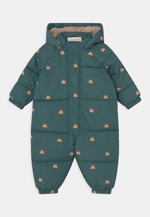 DOGS PADDED OVERALL UNISEX - Snowsuit - stormy blue/honey
