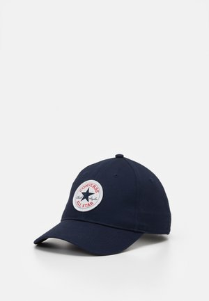 CHUCK PATCH CURVED BRIM  - Cappellino - obsidian
