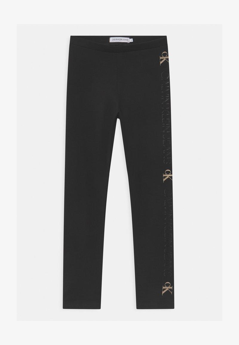Calvin Klein Jeans - MONOGRAM INSTITUTIONAL  - Leggings - black