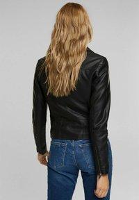 edc by Esprit - Faux leather jacket - black - 2