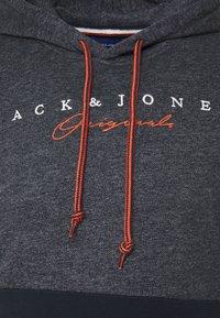 Jack & Jones - JORTRAILER HOOD - Sudadera - navy blazer - 2