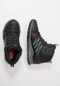 The North Face - Hiking shoes - black/aqua splash - 1