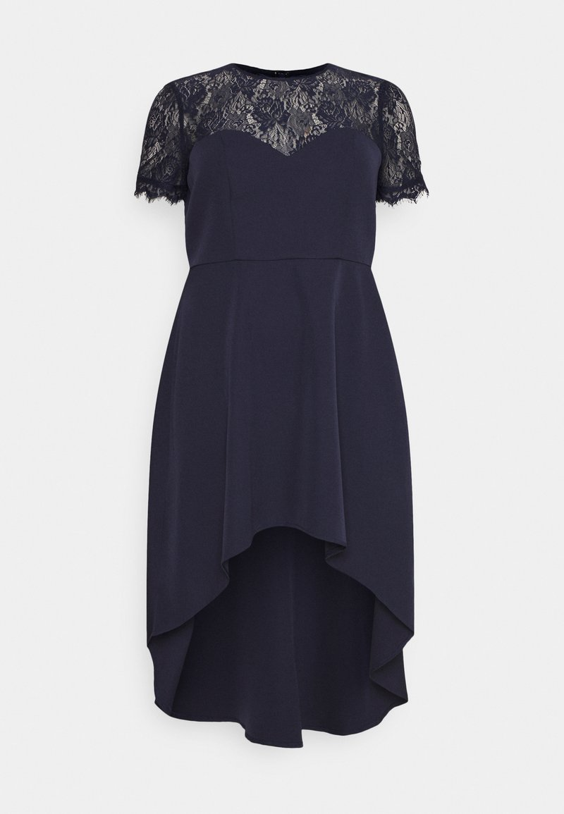 Chi Chi London Curvy - JAZPER DRESS - Vestito elegante - navy