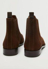 Mango - Classic ankle boots - marron - 4