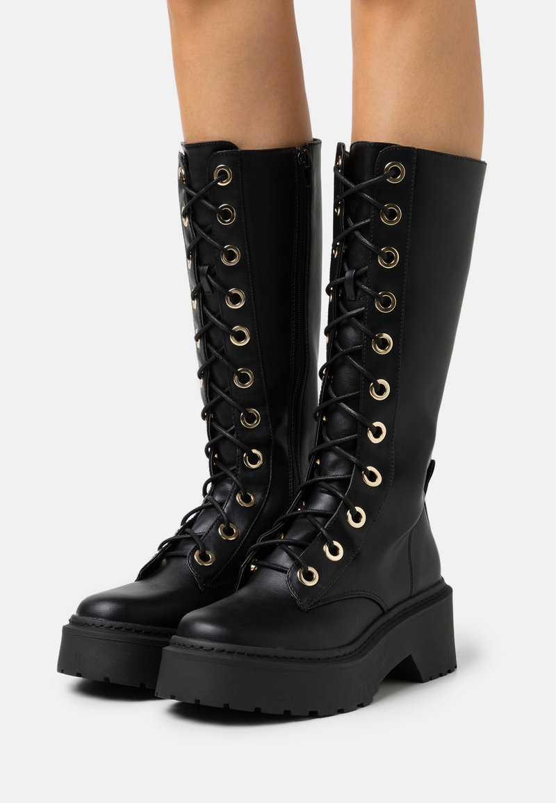 River Island - Lace-up boots - black