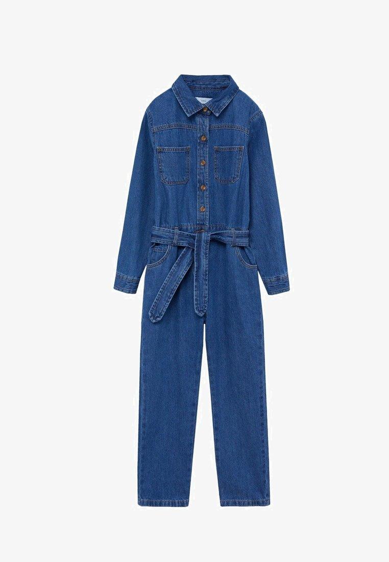 Mango - ALICE - Jumpsuit - medium blue