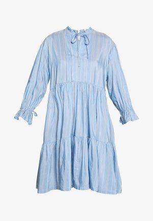 MELA TIERED DRESS - Day dress - blue