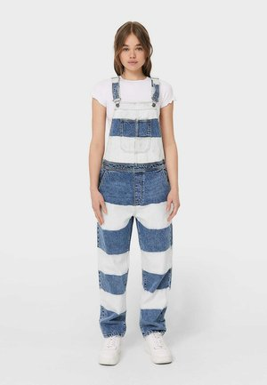 Dungarees - light blue