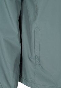 Zizzi - MIT REISSVERSCHLUSS UND KAPUZE - Summer jacket - green - 5