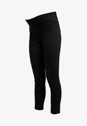 MID RISE MATERNITY  - Vaqueros slim fit - black