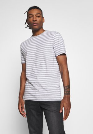 ONSJAMIE LIFE SS STRIPE REG TEE NOO - Print T-shirt - bright white