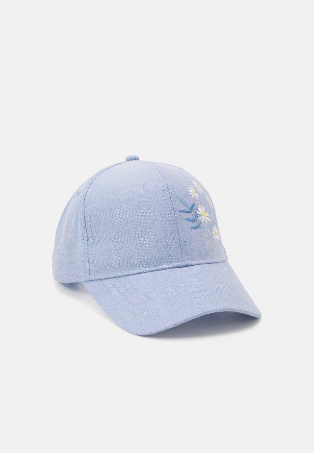 ROUNDPEAK CHAMBRAY DAISYS UNISEX - Kšiltovka - light dusty blue