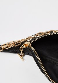 River Island - BLACK LAYERED CHAIN AND CHARM BUMBAG - Bum bag - black - 3