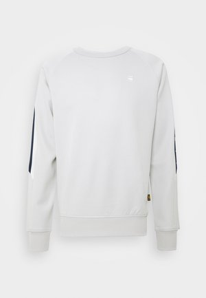 SIDE STRIPE CREW - Sweater - cool grey