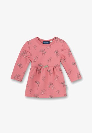 MUSHROOMS - Jersey dress - rosa