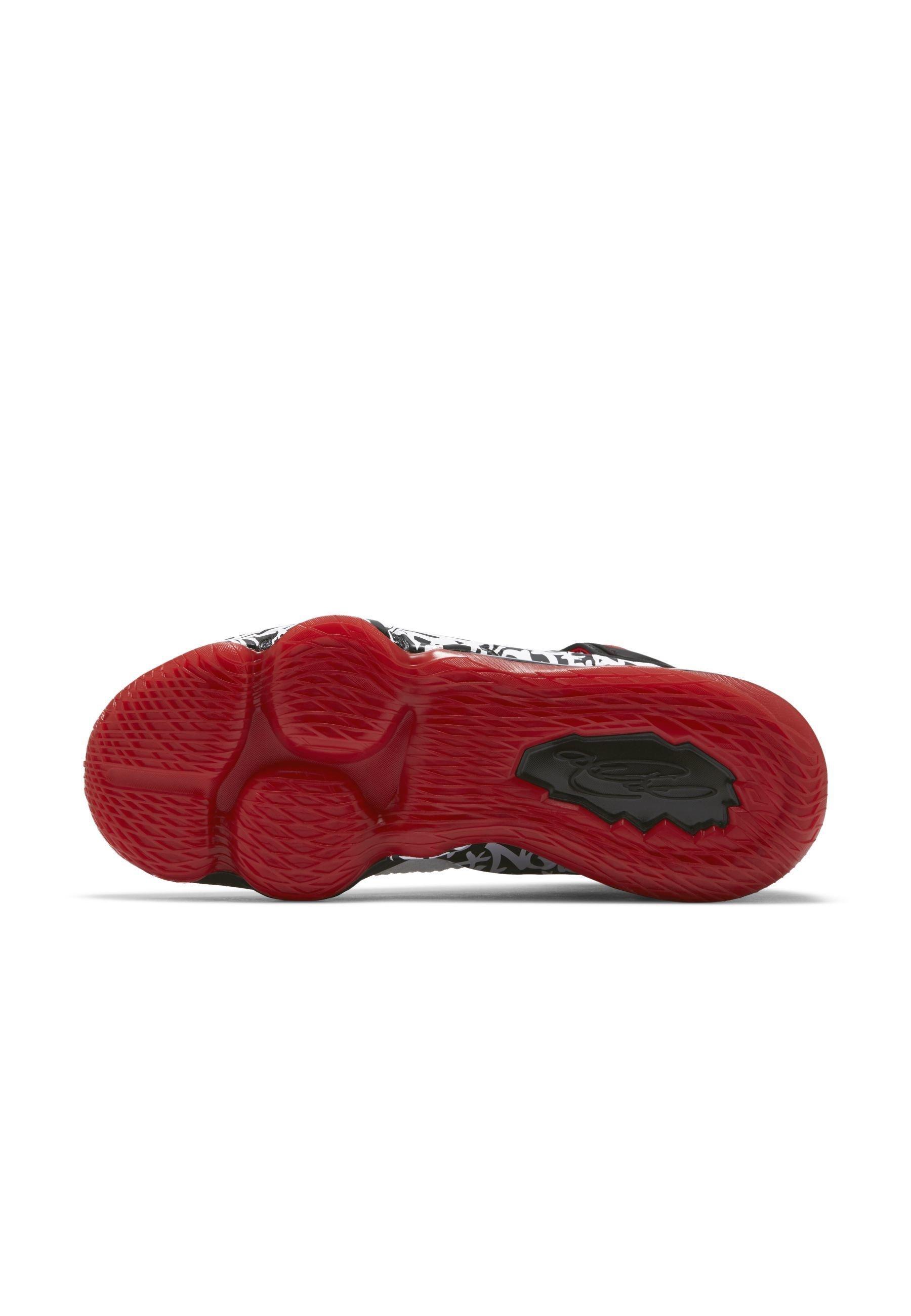 Nike Performance Basketsko - White/black/university Red