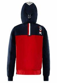 JACK1T - Summer jacket - navy/white/red - 3