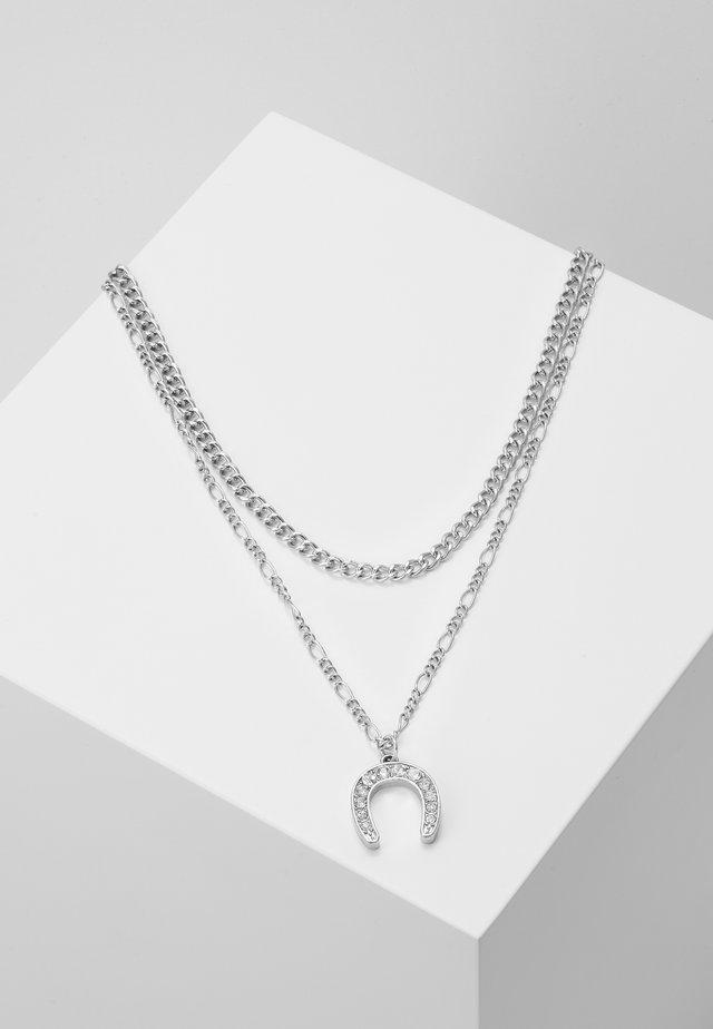 FEELING LUCKY NECKLACE 2 PACK - Kaulakoru - antique silver-coloured
